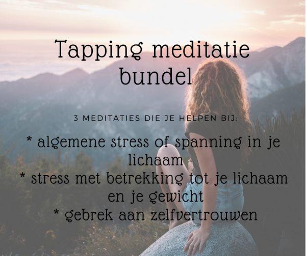 Tapping meditatie bundel EFT